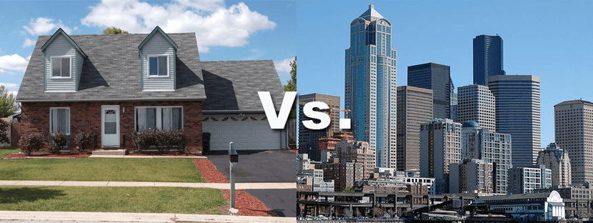 Investing in real estate: Should you buy commercial or residential property?
